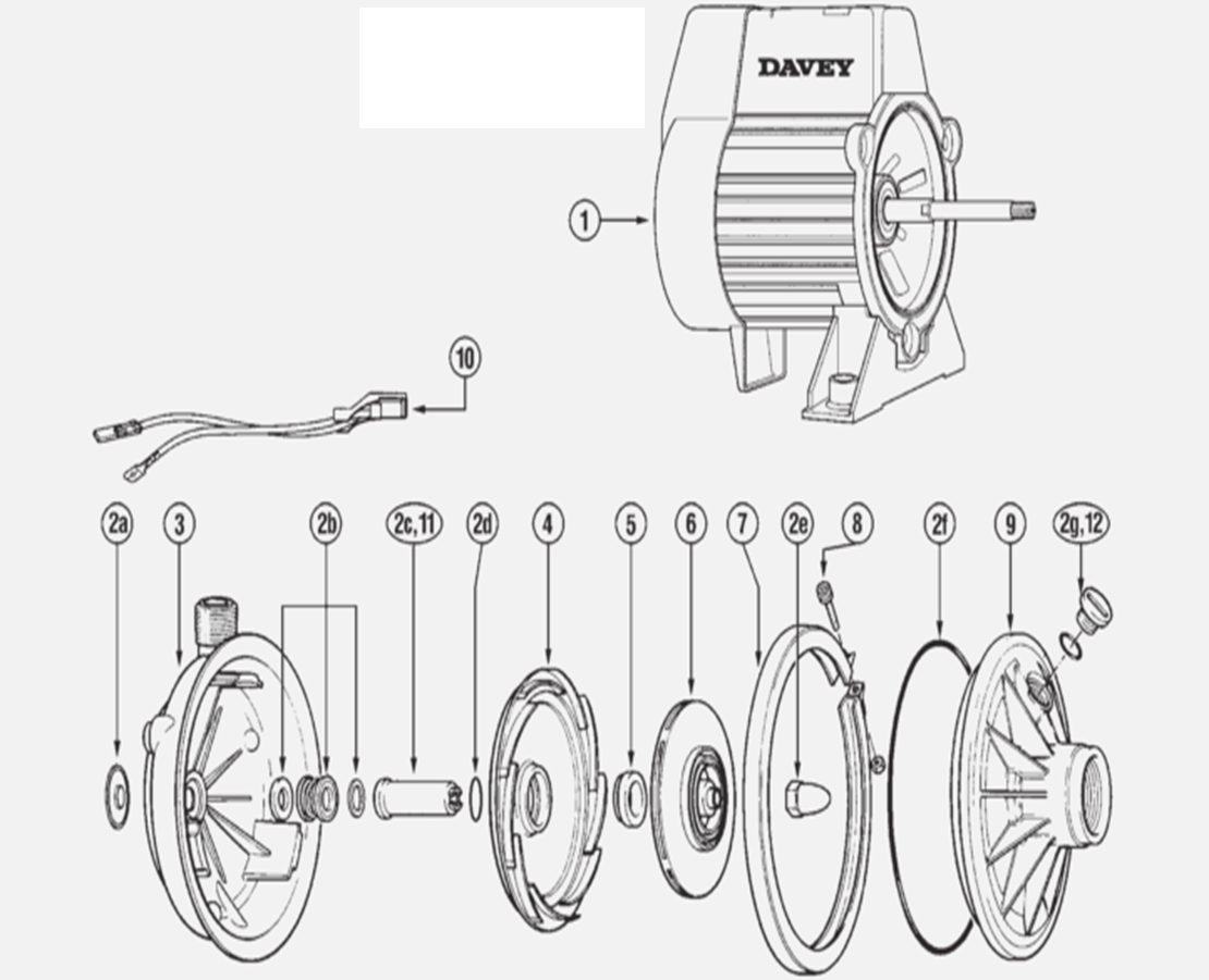 water booster pump diagram